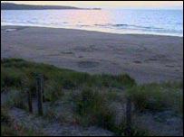 Upton Towans beach