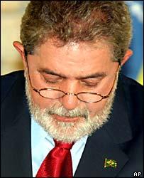 Luis Inacio Lula da Silva, presidente de Brasil