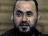 Abu Musab al-Zarqawi, believed to be al-Qaeda leader in Iraq