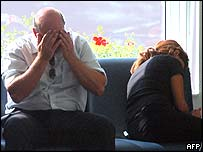 Relatives of victims