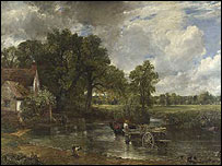 The Hay Wain by Constable (copyright the National Gallery)