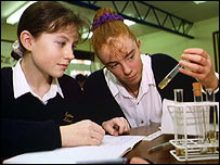 Science in the classroom (BBC)