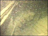 Underwater image of the SS Storaa