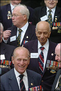 Prince Philip meets veterans