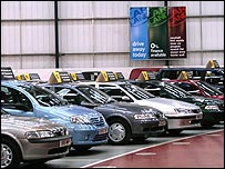 Secondhand car showroom