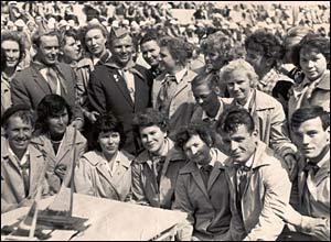 Yuri Gagarin at Artek