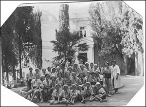Aristocrats at Artek before it became a Young Pioneers' camp