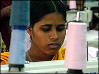Bangladesh garment worker