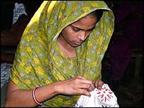 Bangladesh garment worker Shanaj Parvin Rekha