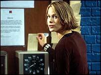 Scene from BBC series Clocking Off