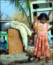 Girl in southern India