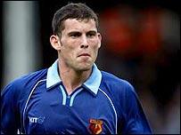 Watford midfielder Jamie Hand