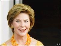 Laura Bush, primera dama de EE.UU.