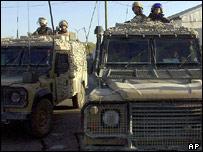 British troops in Basra (generic image)
