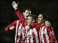 Kevin Phillips scored twice for Southampton