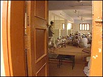 Students at Karachi madrassa