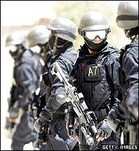Jordanian anti-terror police