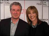 Christopher Monger and Karen Montgomery (pic courtesy of Christopher Monger)