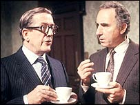 Sir Arnold and Sir Humphrey in Yes, Minister