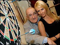 Jim Bowen with Nancy Sorrell