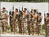 Spanish Isaf troops in Herat in May