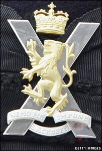 'Super regiment' cap badge
