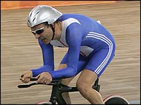 Paralympic cyclist Darren Kenny