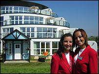 Redcoats at Shoreline hotel