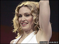 Madonna at Live 8 in London
