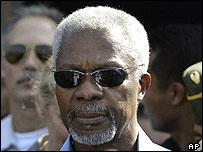 Kofi Annan, Aceh 7/01/05