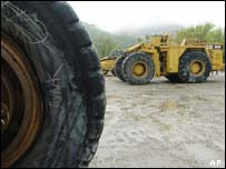 Caterpillar trucks, AP