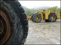 Caterpillar trucks, AP