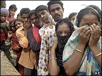 Scene of fire in Bangladesh