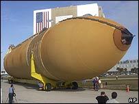 Space shuttle external tank, AP