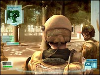 Screenshot of Ghost Recon game for Xbox 360
