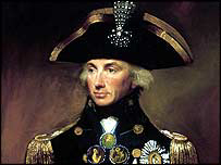 Rear Admiral Sir Horatio Nelson
