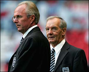 Sven-Goran Eriksson and Tord Grip