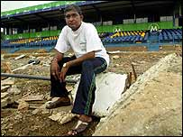 Groundsman Jayananda Warnaweera