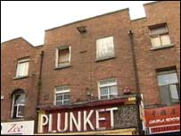 The building is at Number 16 Moore Street