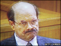 BTK serial killer Dennis Rader at his sentencing hearing
