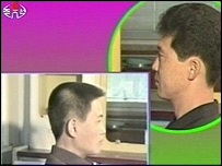 North Korean Television campaign on hair