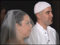 Irit and Eli have a Reform wedding ceremony in Israel