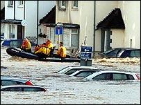 Rescuers in Carlisle