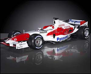 Toyota's TF105 car