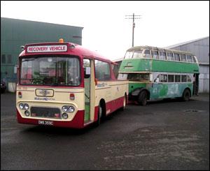 The Scottish Bus Museum in Fife