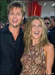 Brad Pitt and Jennifer Aniston, 1999