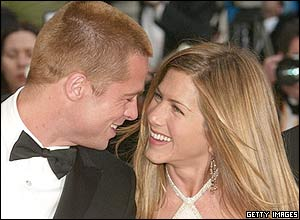 Brad Pitt and Jennifer Aniston, 2004