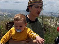 Menora Hazani, del asentamiento de Homesh