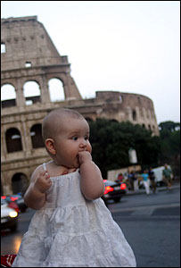 Baby May at the Colosseum