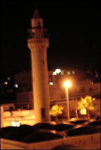 Mezquita en Ramala.